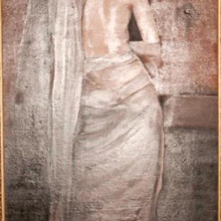 Woman in Saree