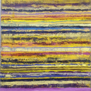 Lemon & Purple Stripes
