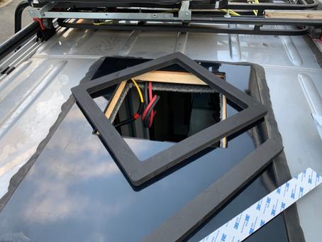 2019 Winnebago Revel Air Conditioner Upgrade.