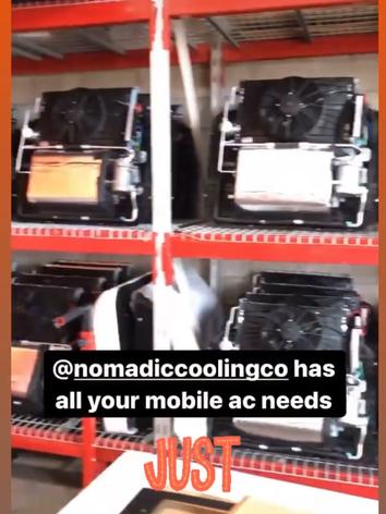 Nomadic Cooling