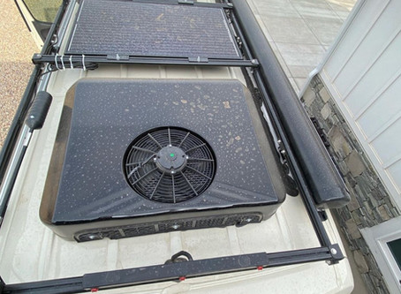 2021 Winnebago Revel Air Conditioner Replacement