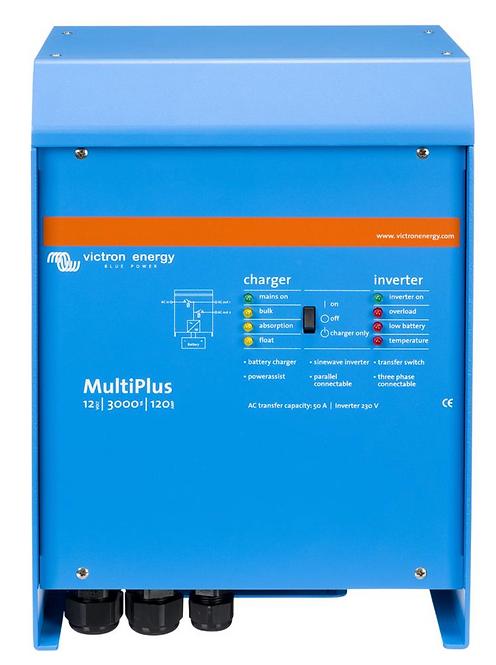 Victron Energy Multi Plus 12/3000/120-50 120V VE Bus Inverter/Charger (PMP123021