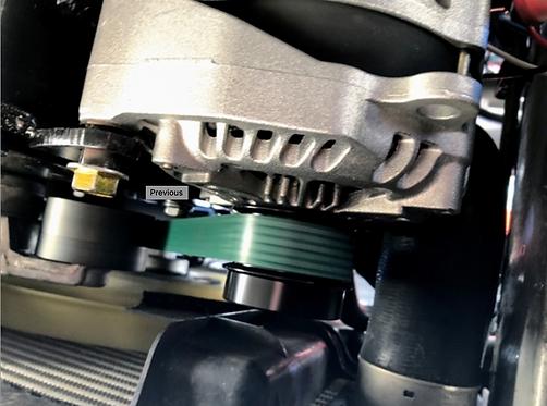 SPRINTER 3 BELT DUAL ALTERNATOR KIT WITH 12 VOLT 280XP HIGH AMP