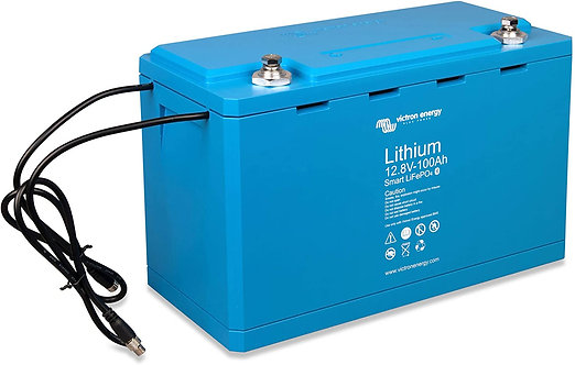 Victron Energy Smart Lithium Iron Phosphate Battery 100 Ah