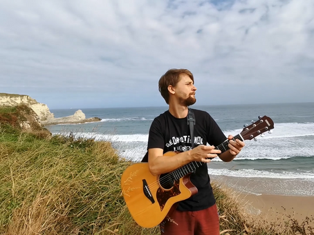 Music video: Reinis Jaunais - Storm (Vētra)