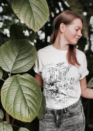 Reinis Jaunais - white unisex t-shirt