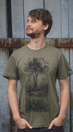 Zeme t-shirt - Haki