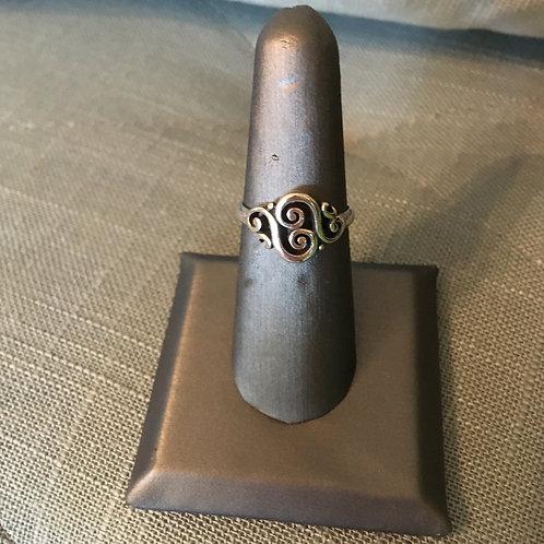 "James Avery ""Spanish Scroll"" Ring"