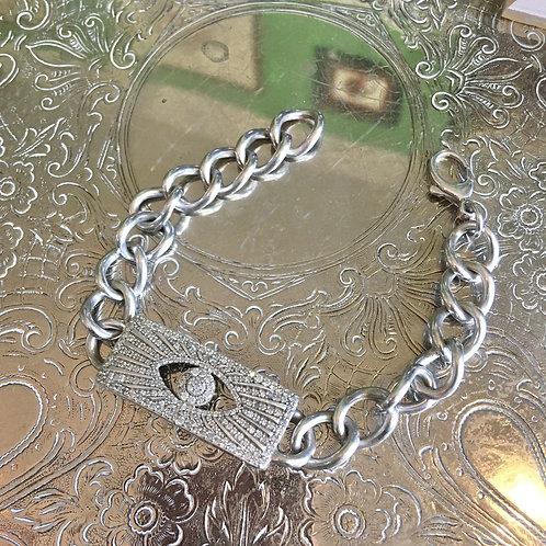 Sheryl Lowe Pavé DiamondI.D. Bracelet