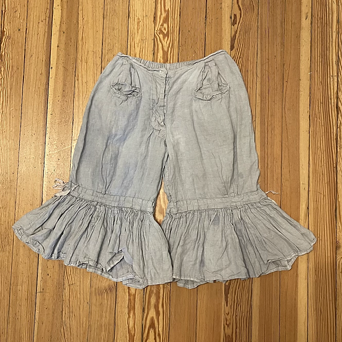 Magnolia Pearl Blue Linen Bloomers
