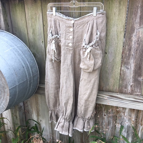 Magnolia Pearl Retired Sand Linen Bloomers