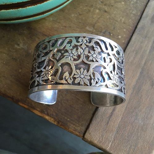 Lee Nieto Sterling Silver Bracelet