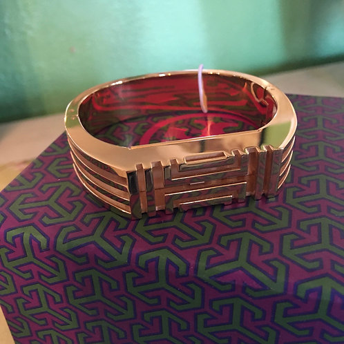 Tory Burch Gold Fit Bit Cover Bracelet