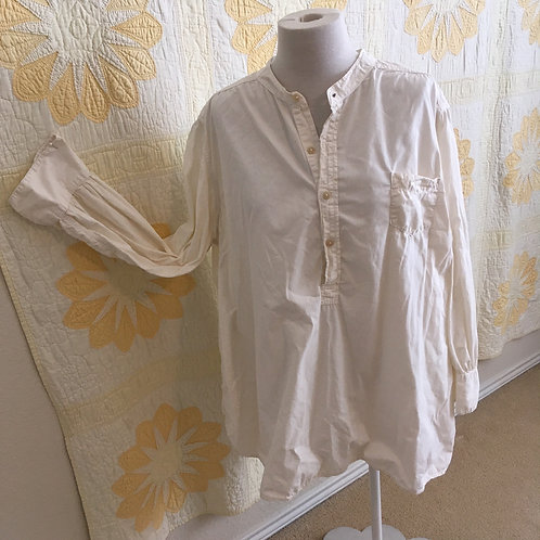 "Magnolia Pearl ""Idgy"" Man's Style Cotton Shirt"
