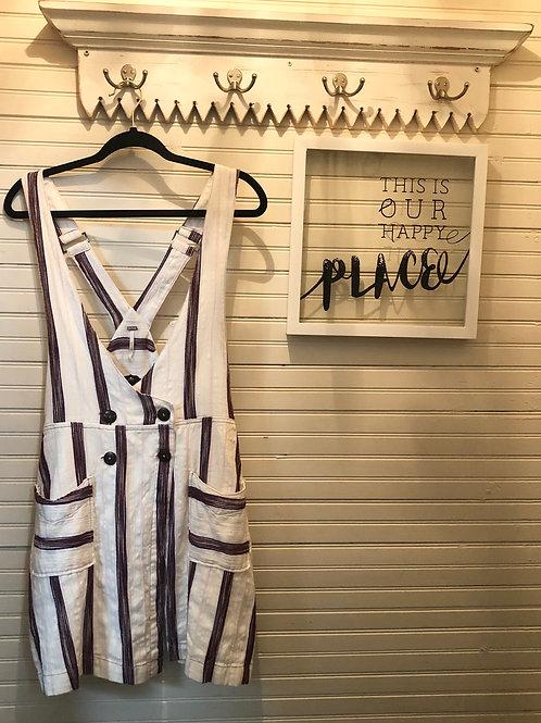 Free People:Suspender Dress w/ Pockets