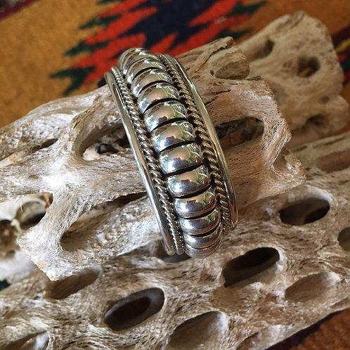 Sterling Silver Navajo Bracelet