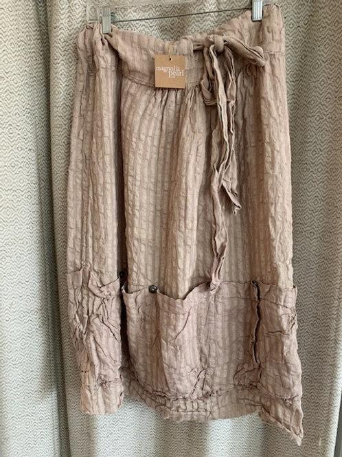Magnolia Pearl Linen Vergie Skirt