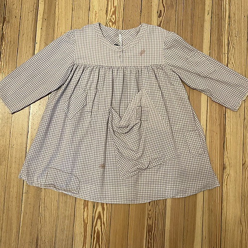 Magnolia Pearl Pink and Lavender Check Top