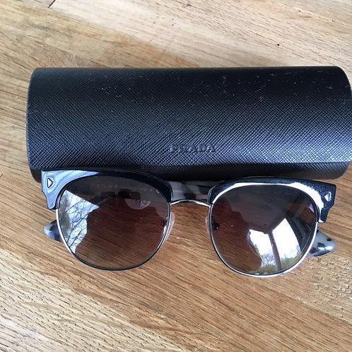 "Prada ""Vintage-Cut"" Sunglasses with Case"