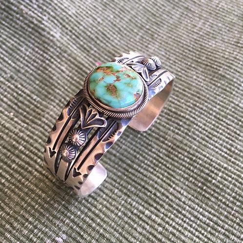 Old Trading Post: Bezeled Stone Bracelet