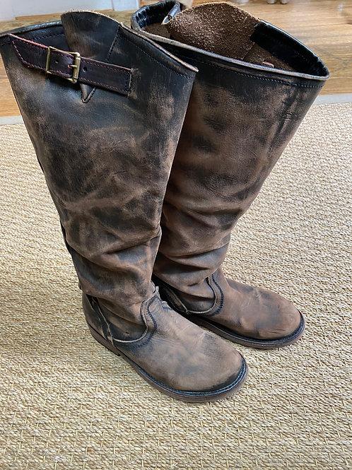 Freebird Distressed Leather Boot