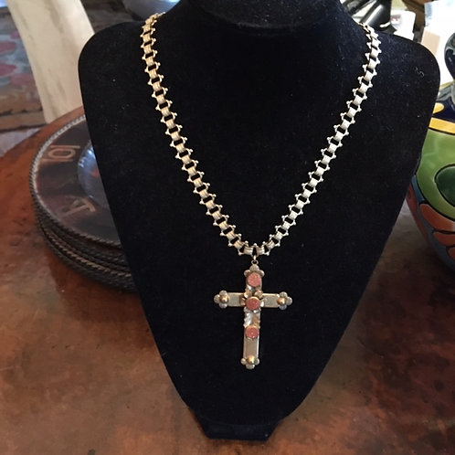 Vintage Sarah Coventry Cross on Chain