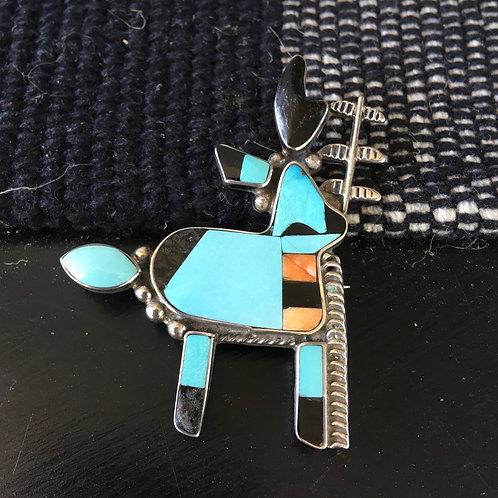 Stylized Elk pin by Federico Jimenez