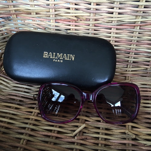 Balmain Purple Sunglasses