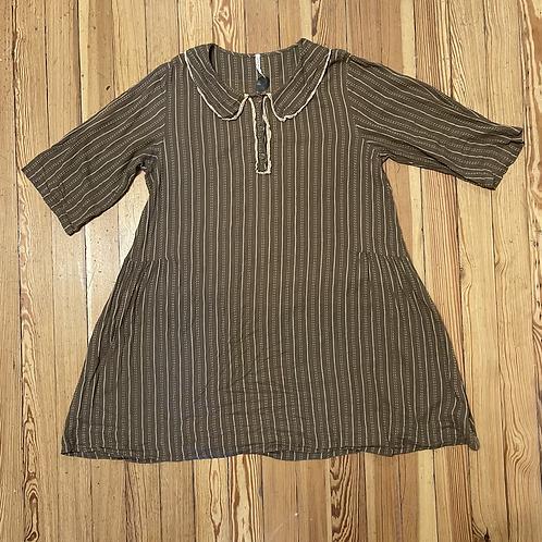 Magnolia Pearl Brown Stripe Dress/Tunic