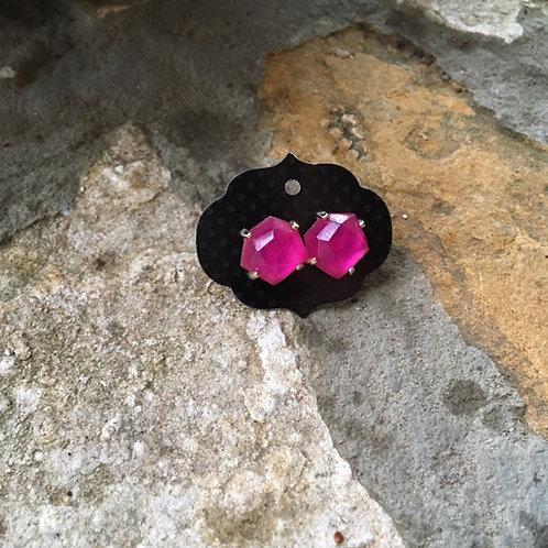 Kendra Scott Pink Stud Earrings