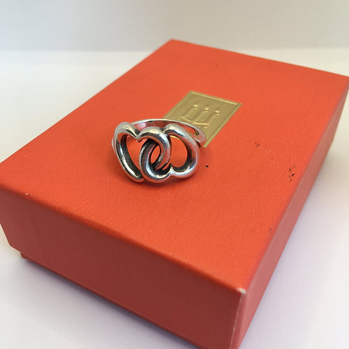 "James Avery ""Linked Hearts"" Ring"