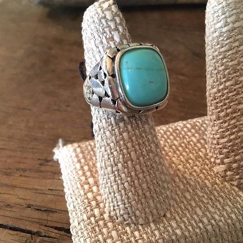 Rare John Hardy Turquoise ring