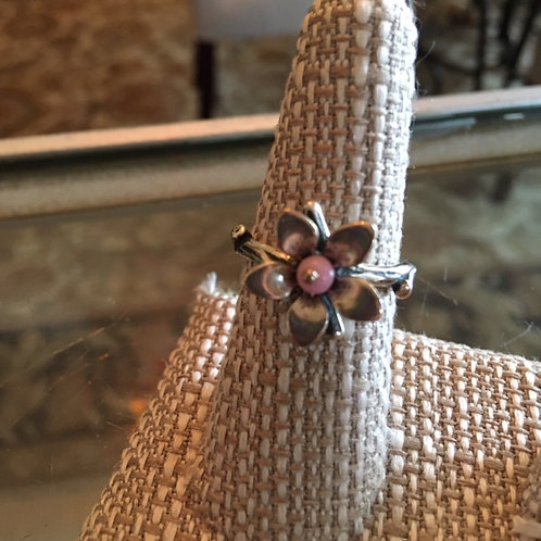 "James Avery ""Pink Blossom"" ring"