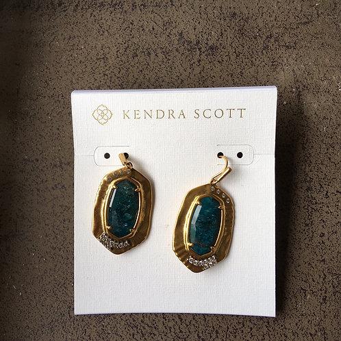 "Kendra Scott ""Anna"" Emerald Apatite Earring"