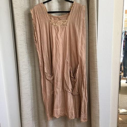 Magnolia Pearl: Gingham Check Dress