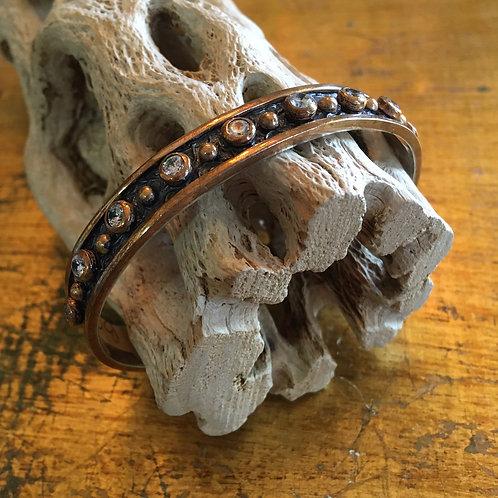 Bora Brand Sterling + Gold Bracelet