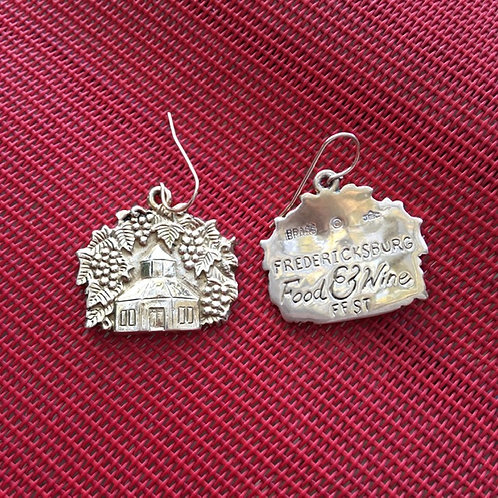 Jeep Collins Commemorative Vintage Earrings
