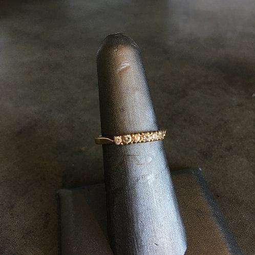 Yellow Gold+Diamond Ring