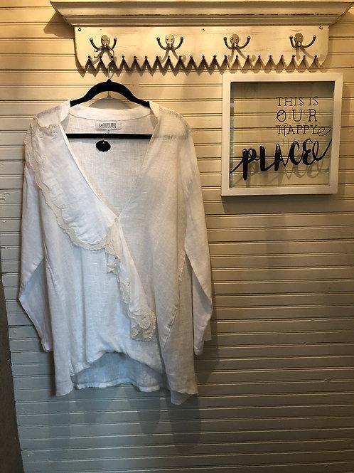 Randolph Duke Collection: Sheer White Top