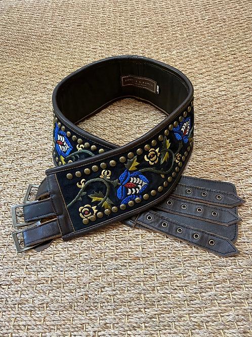 Double D Triple Buckle Belt