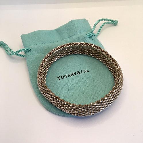 Tiffany Somerset Sterling Mesh Bracelet