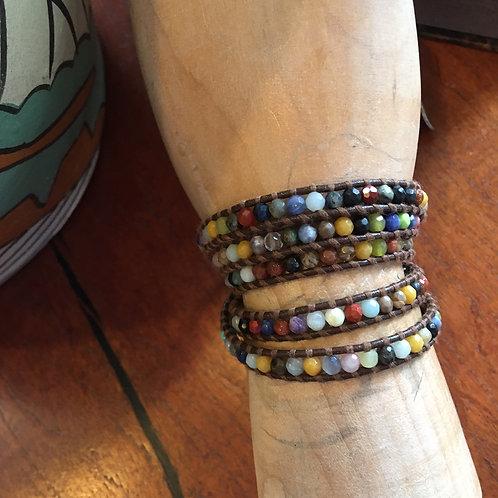 Chan Luu Multi-ColorWrap Bracelet