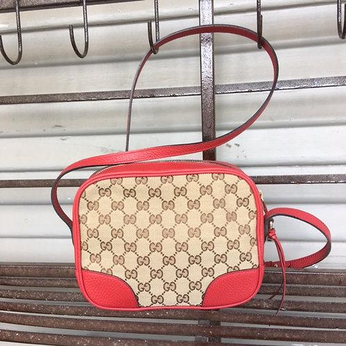 Gucci Monogram Mini Bree Messenger