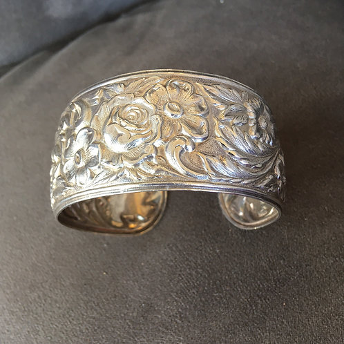 S. Kirk and Son Repoussee' Sterling Bracelet