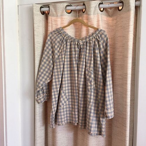 Magnolia Pearl Large Check Blouse