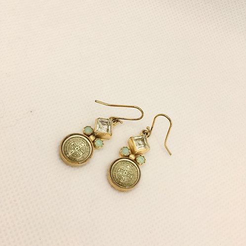 Virgins, Saints and Angels San Benito earrings