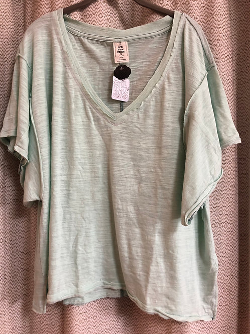 Free People Mint Top