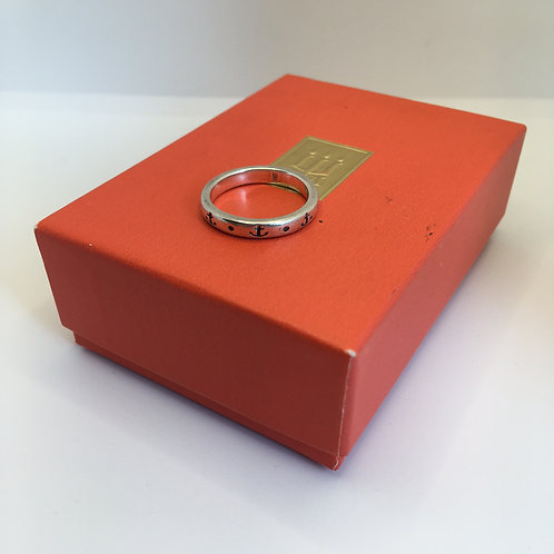 """James Avery """"Anchor"""" Stacking Ring"""