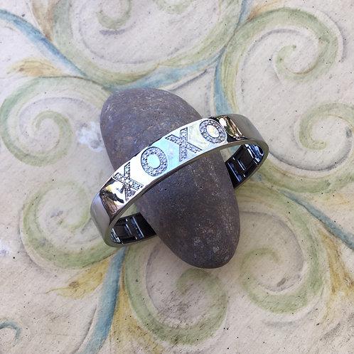 Sheryl Lowe Custom-made Sterling + DiamondBracelet