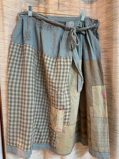 Magnolia Pearl Cotton Patchwork Skirt